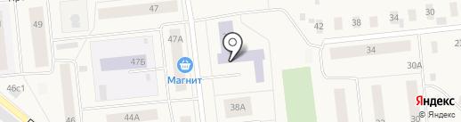 Новодвинский индустриальный техникум на карте Новодвинска