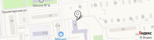Центр занятости населения г. Новодвинска на карте Новодвинска
