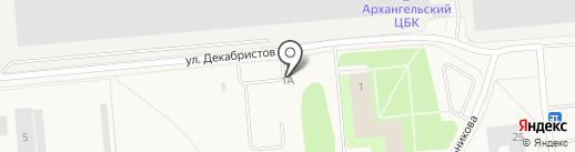 Автосервис на карте Новодвинска