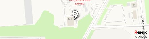 Комбинат общественного питания на карте Новодвинска