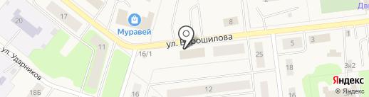 УФМС на карте Новодвинска