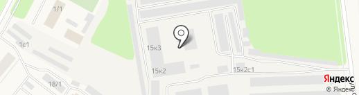 Норд ТВ на карте Новодвинска