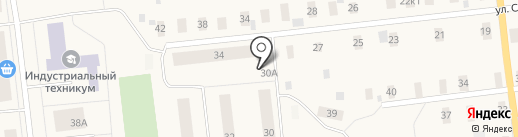 На Двинской на карте Новодвинска