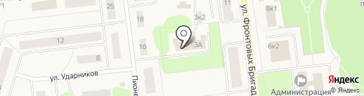 Новодвинский городской суд на карте Новодвинска