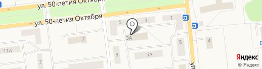 Регион-Недвижимость на карте Новодвинска