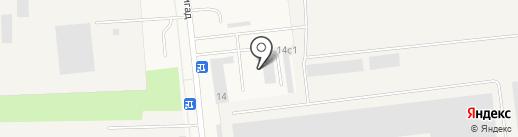 Новодвинская лесоперерабатывающая компания на карте Новодвинска