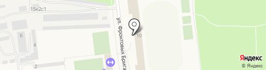 Юниор на карте Новодвинска