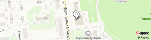 Прокуратура г. Новодвинска на карте Новодвинска