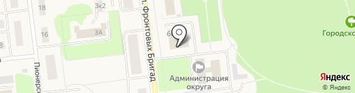 Отдел архитектуры и градостроительства на карте Новодвинска
