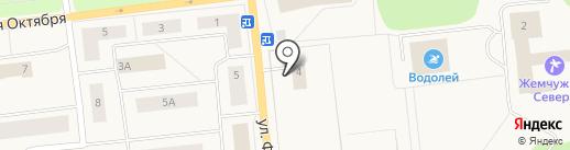 Хозторг на карте Новодвинска