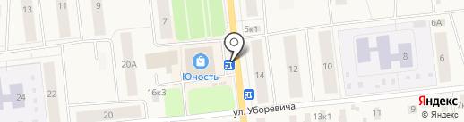 Киоск на карте Новодвинска