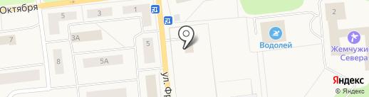 Удачный на карте Новодвинска