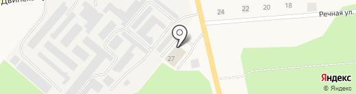 Р-Авто на карте Новодвинска
