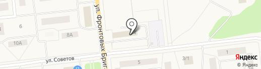Кабинет юридических услуг на карте Новодвинска