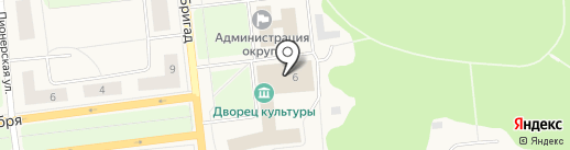 Музей АЦБК на карте Новодвинска