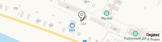 Продуктовый магазин на карте Уемского