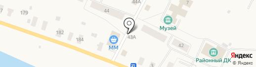 Продуктовый магазин на Заводской на карте Уемского