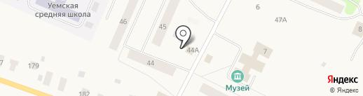 Продукты на Заводской на карте Уемского