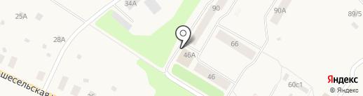 Почта банк, ПАО на карте Уемского