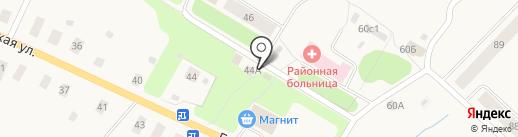 Магазин овощей и фруктов на карте Уемского