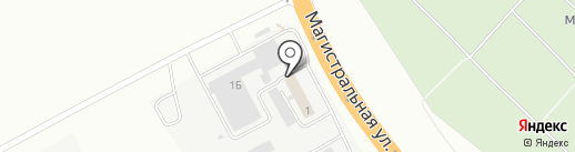 Автознак 44 на карте Костромы