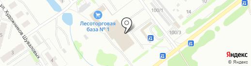 Импульс на карте Костромы