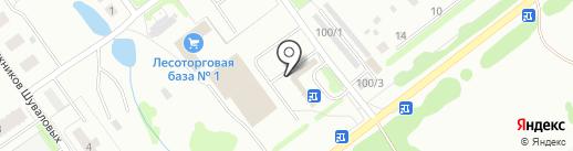ЮшИ на карте Костромы