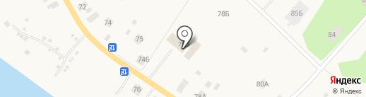 Продовольственный магазин на карте Уемского