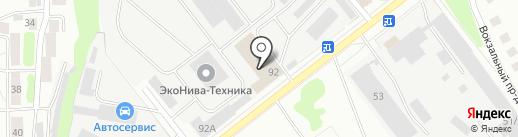 Торгово-сервисная компания на карте Костромы