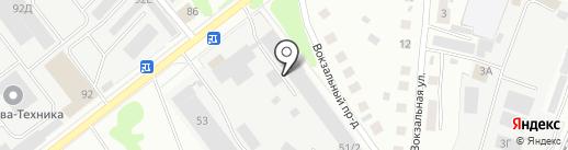 Антураж на карте Костромы