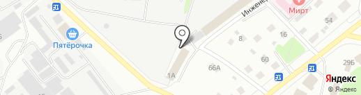 Димитровский районный суд г. Костромы на карте Костромы