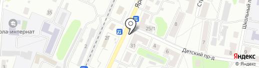 Эконом на карте Костромы