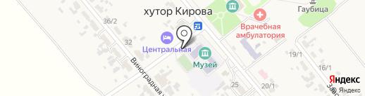 Алеся на карте Кировой