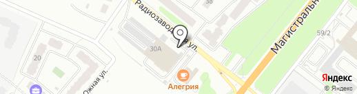 Союз Предпринимателей на карте Костромы