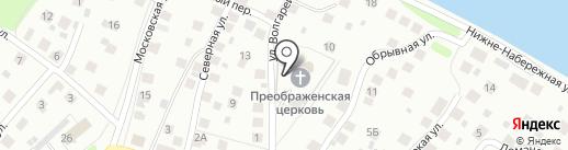 Спасо-Преображенский кафедральный собор Костромской и Ярославской епархии на карте Костромы