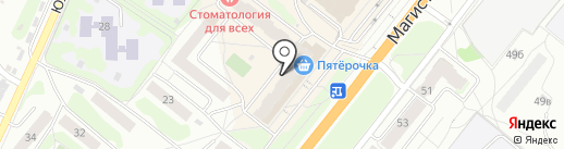 Максавит на карте Костромы