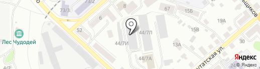 Гринлайт на карте Костромы