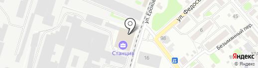 Костромская противопожарная компания на карте Костромы