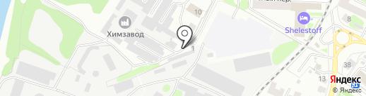 Транспортная компания на карте Костромы