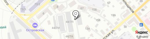 Hiter на карте Костромы