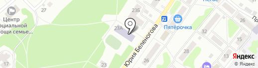 ДЮСШ №5 на карте Костромы