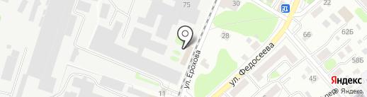 Мир каменных столешниц на карте Костромы
