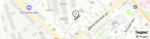 СОРТМАШ на карте Костромы
