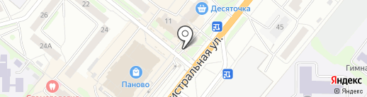 Белый слон на карте Костромы