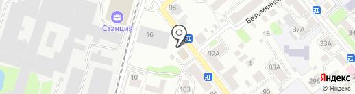 Прокуратура Костромского района на карте Костромы