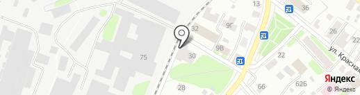 Браво-К на карте Костромы