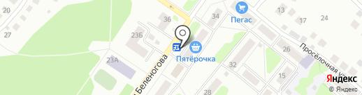 А-МЕГА на карте Костромы
