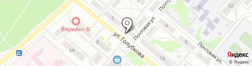 Заволжская коллегия адвокатов г. Костромы и Костромской области на карте Костромы