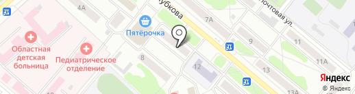 Магазин конфет на карте Костромы