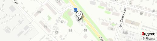 АЗС ЭлектонНефтегаз на карте Иваново